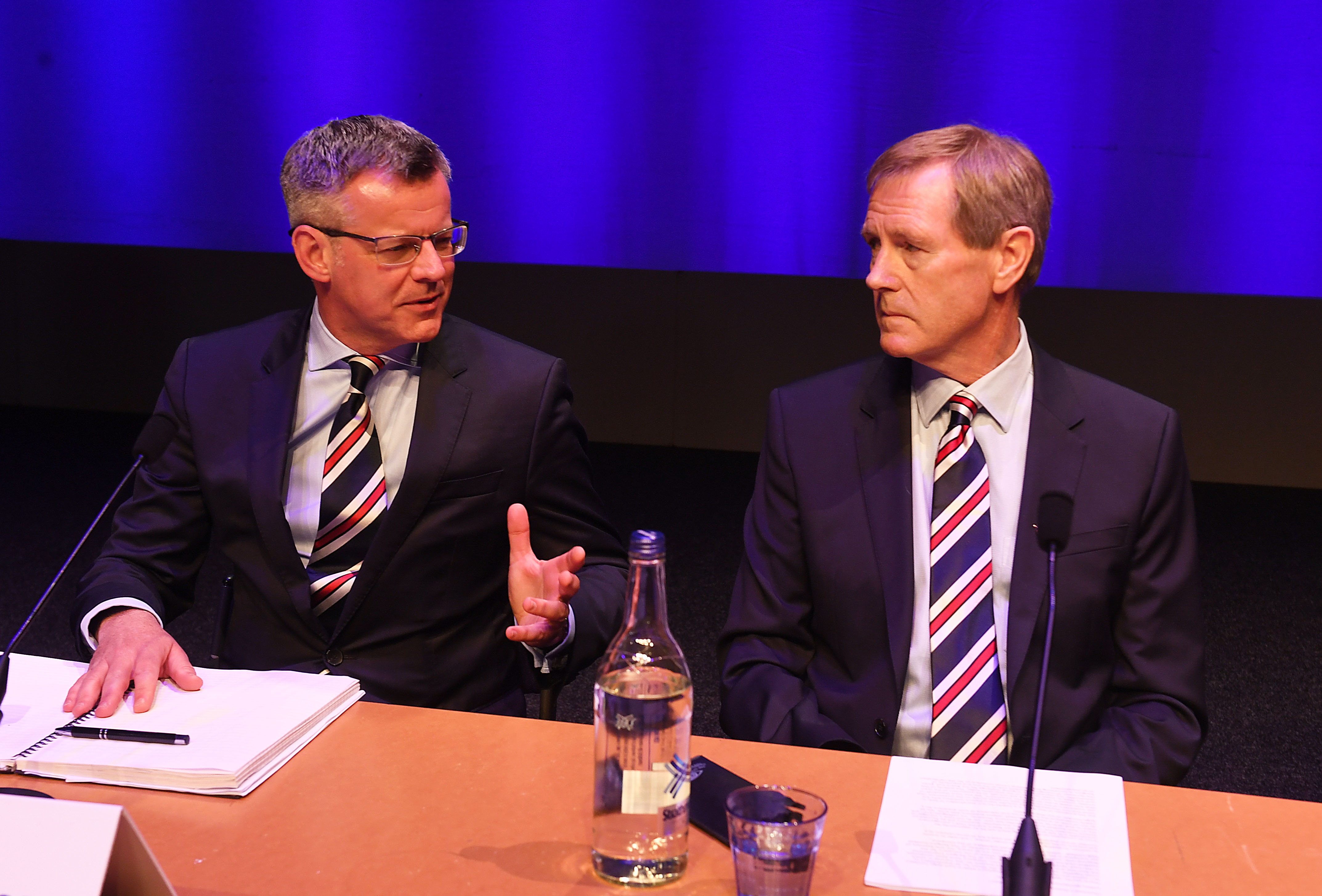 Stewart Robertson and Dave King.