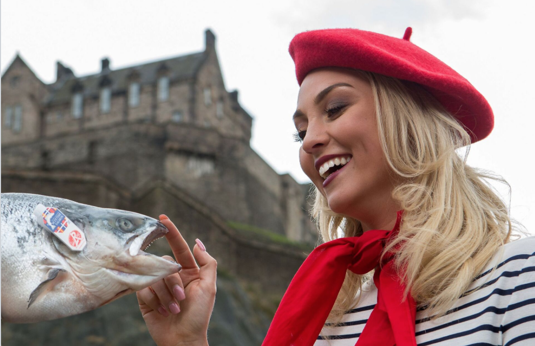 Scottish salmon and France
