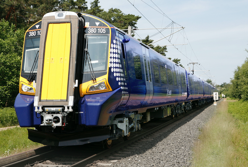 electric train class 380