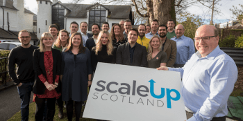 Bob Keiller with Scale-up recruits