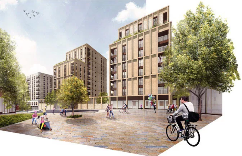High Street plan Glasgow