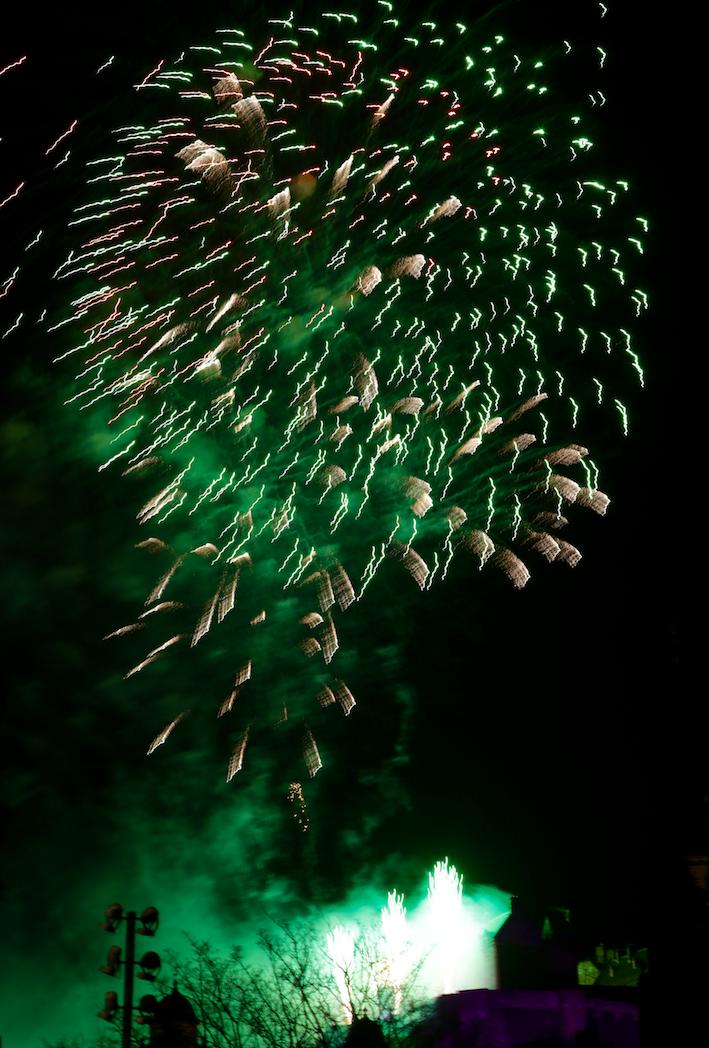 Hogmanay fireworks 2017