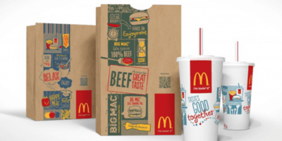 McDonalds packaging