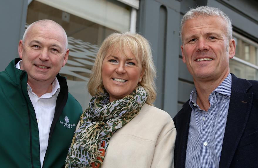 Steve Spalding, June and Gary Foy
