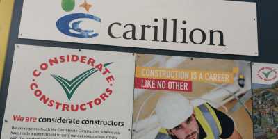 Carillion sign
