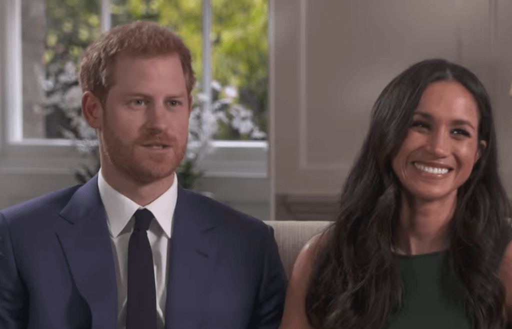 Prince Harry and Meghan Markle (BBC)