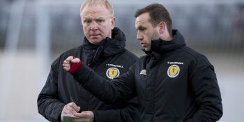 Alex McLeish and James McFadden need a win over Israel