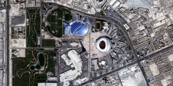Khalifa International stadium by Bird.i