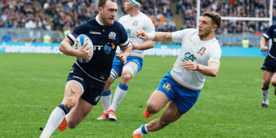 Stuart Hogg faces a battle to be fit for the Six Nations championship