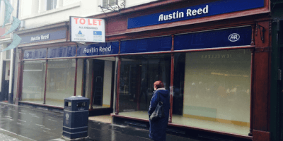 Austin Reed shop closure