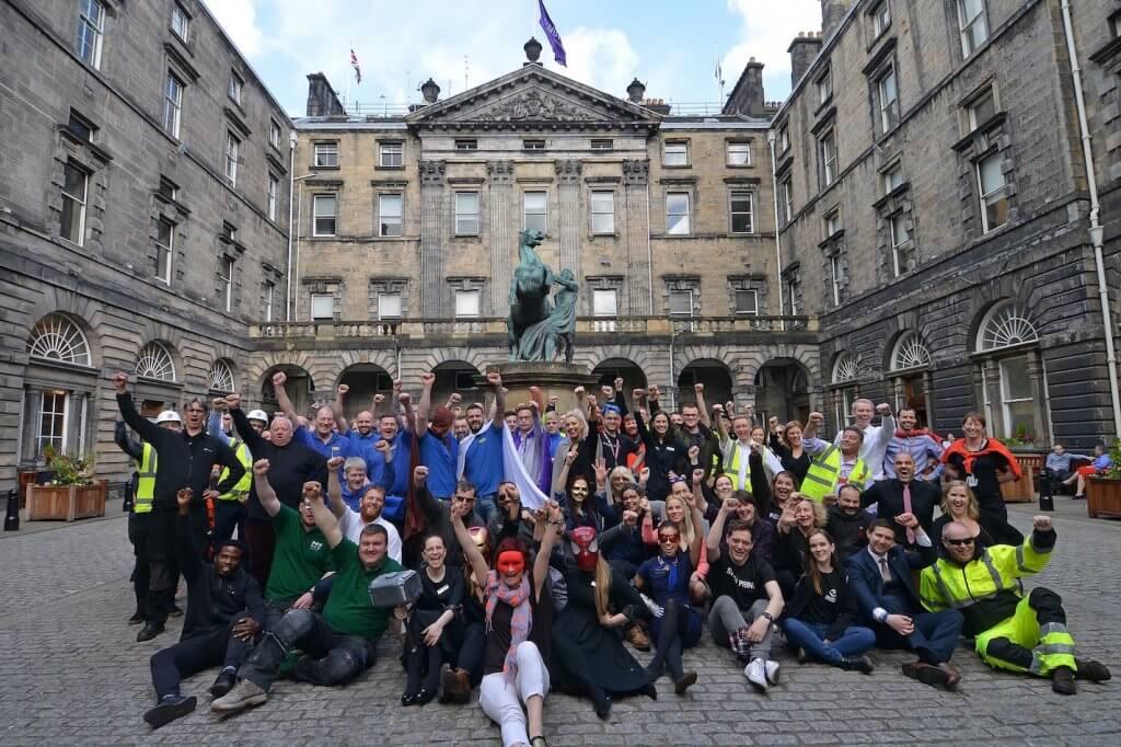 Edinburgh film crew, businesses and suppliers