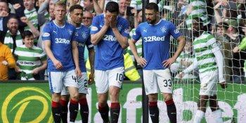 Rangers players despair