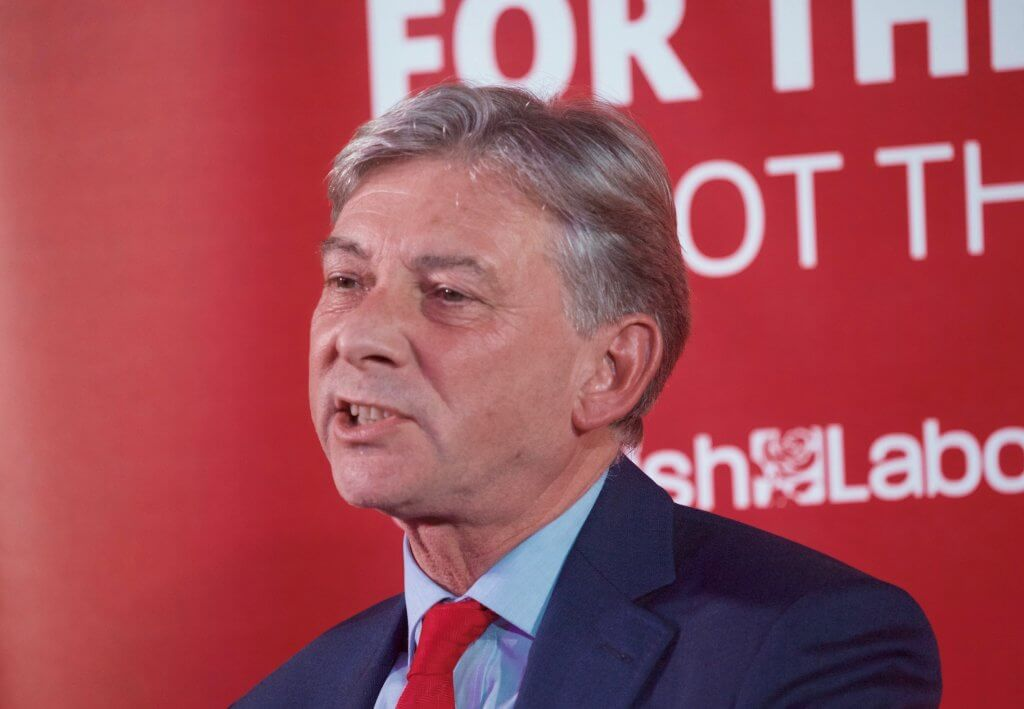 Richard Leonard at Penicuik