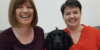 Ruth Davidson and partner