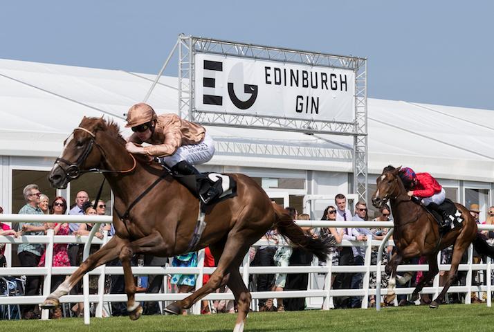 Edinburgh Gin, Musselburgh racecourse