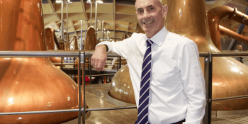 Edrington chief executive Ian Curle is pleased to have Wyoming Whiskey in the Edrington portfolio