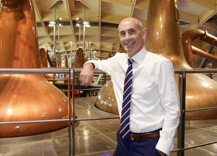 Edrington chief executive Ian Curle is pleased to have Wyoming Whiskey in the Edrington portfolio