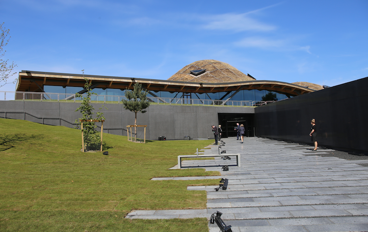 Macallan distillery entrance