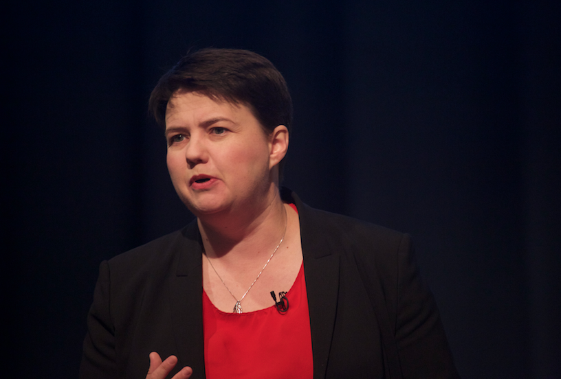 Ruth Davidson at women's conf