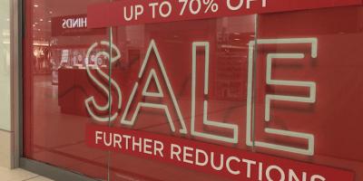 Sale shop retail