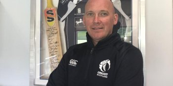 Cricket Scotland chief Malcolm Cannon was impressed by Shane Burger