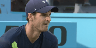 Andy Murray back in action at Queen's 19 June 18