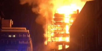 Glasgow School of Art fire 15 June 2018
