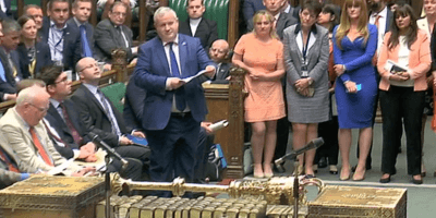 Ian Blackford ahead of Commons walkout 13 June