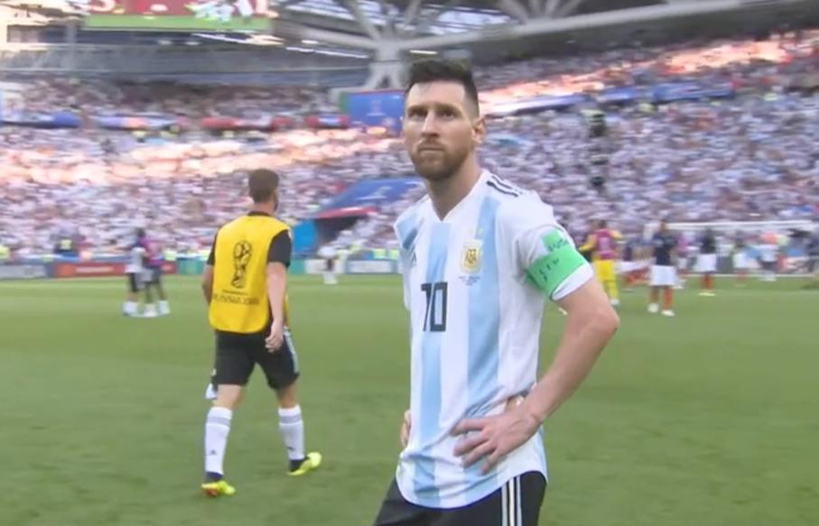 Lionel Messi v France