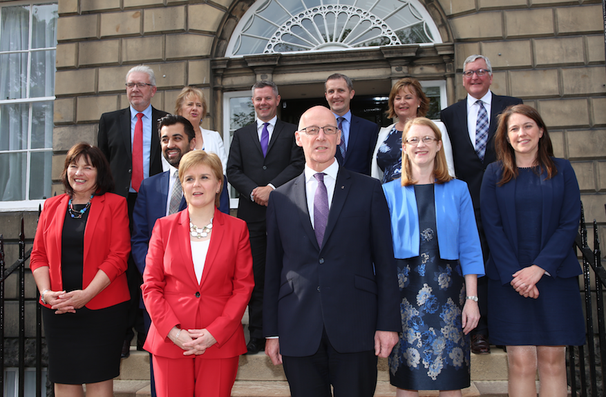 New Scottish Cabinet at Bute House