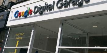 Google Digital Garage in Edinburgh