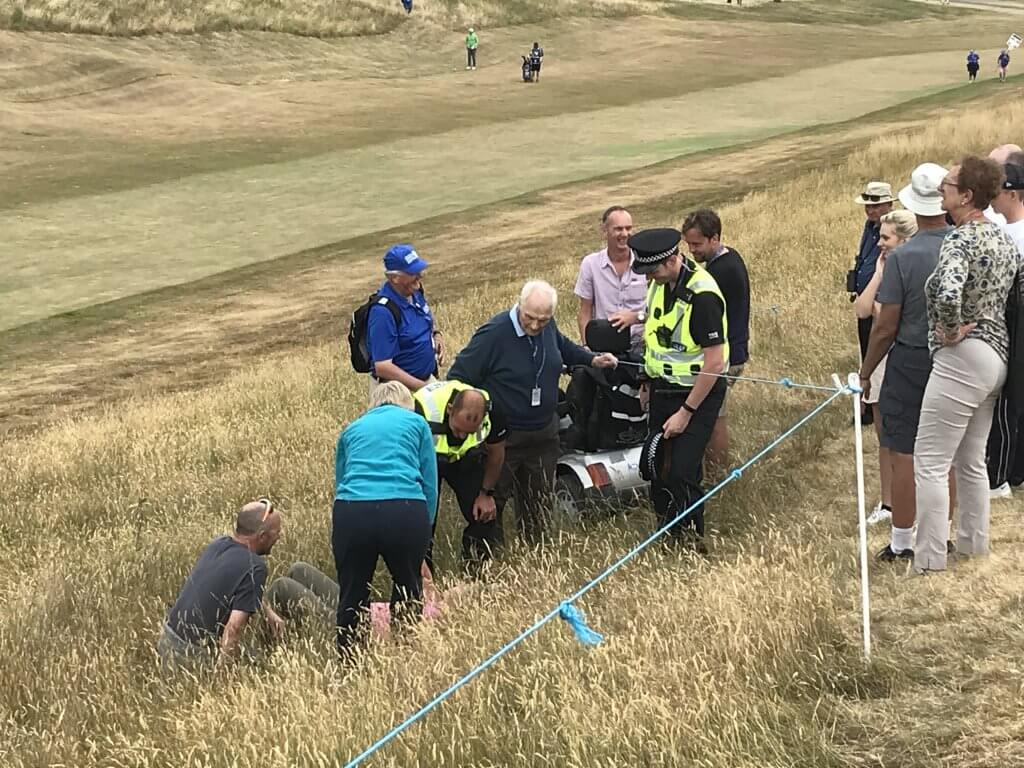 Scottish Open incident