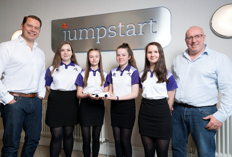 Jumpstart with Linlithgow girls