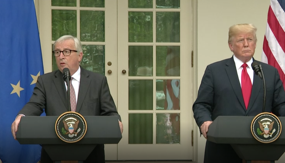 Juncker and Trump