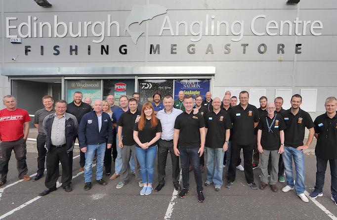 Paul Devlin Edinburgh Angling Centre