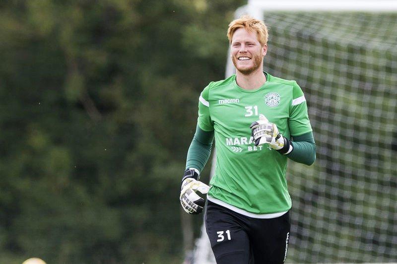 Hibs' keeper Adam Bogdan is ready to return against Molde