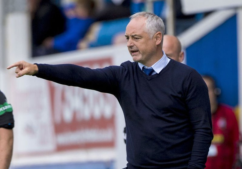 Ray McKinnon left Morton after a short spell to take up vacant Falkirk manager post
