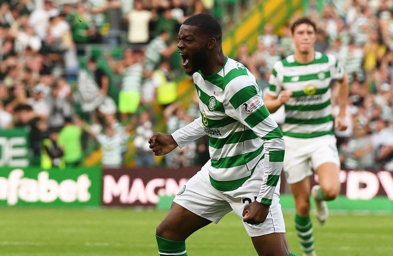 Olivier Ntcham scored Celtic's goal against Suduva but the Glasgow team could only draw 1-1 in Lithuania