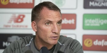 Brendan Rodgers ahead of AEK Athens clash