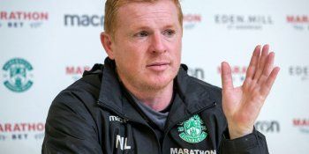 Hibs boss Neil Lennon has waved goodbye to Hibs