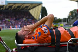 Jamie Murphy will not play again for Rangers this season after being injured against Kilmarnock