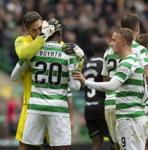 Dedryck Boyata was the unlikely hero for Celtic against Hamilton