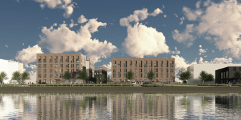 Drum Apartments at Canting Basin, Pacific Quay