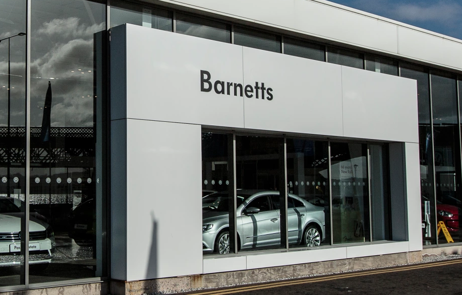 Barnetts car dealership Dundee