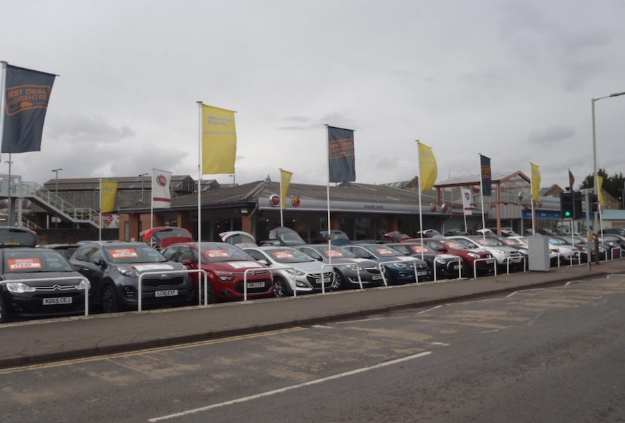 Car showroom Perth