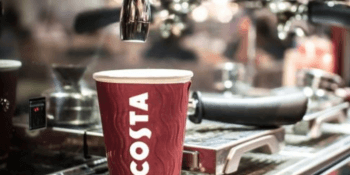 Costa coffee sold by Whitbread