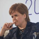 Nicola Sturgeon pensive
