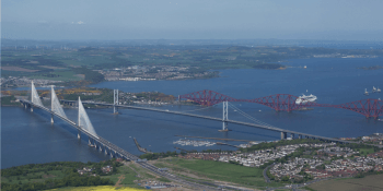 Queensferry Crossing and Forth bridges