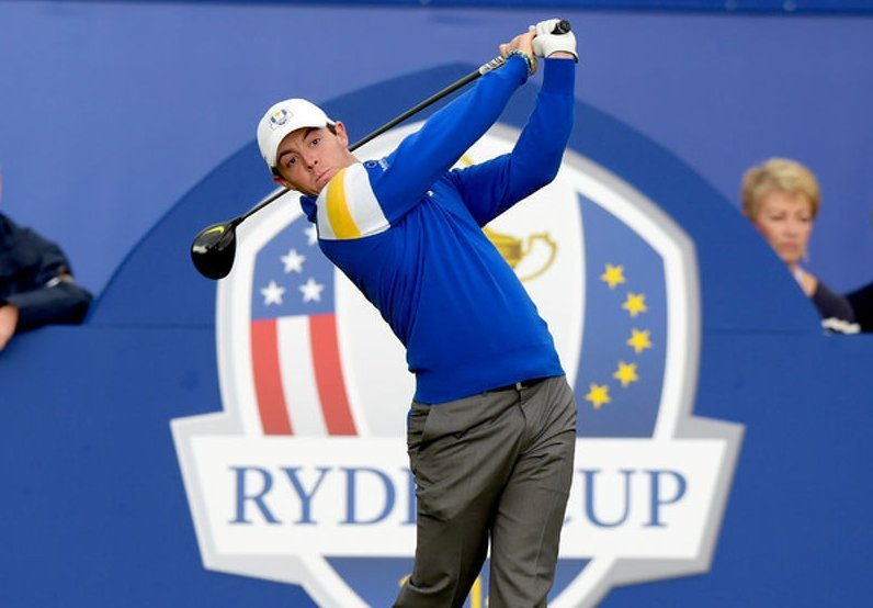 Rory McIlory thinks the course set-up in Paris will suit Europe's Ryder Cup bid