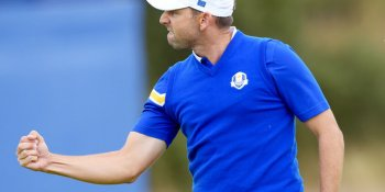 Sergio Garcia beat Rickie Fowler to become Europe's record points scorer in the Ryder Cup
